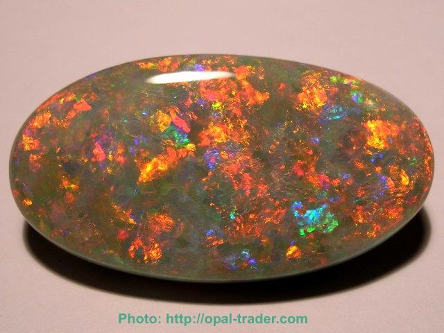 Opal Yellow And Black Pattern
