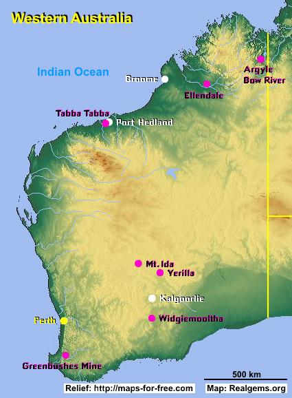 Gemstone Deposits Australia